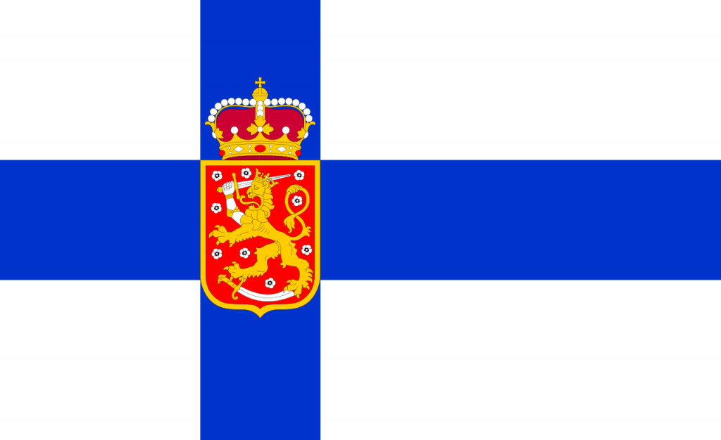 The Official Symbols Of Finland Flag Coat Of Arms And National